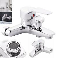 Bath Tub Tap Faucet Shower Head Wall-Mount Bathroom Mixer Tap Faucet Valve Tool