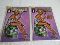 Image DARKCHYLDE #1/2 Gold Foil Variant + Standard with COA Wizard Special RARE