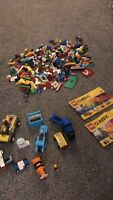 Lego Classic Town Job Lot Figures + Vehicles x2 Lego classic manuals and more