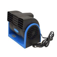 Blue 12V Car Truck Cooling Air Fan Speed Adjustable Silent Cooler System AT