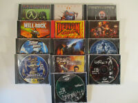 Lot of 11 PC FIRST PERSON SHOOTER Games MDK Unreal Tournament and MORE!!