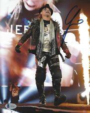 Chris Jericho Signed WWE 8x10 Photo BAS COA New Japan Pro Wrestling Autograph 3