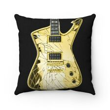 KISS Paul Stanley With GOLD Mirror Iceman 2 Pillow Spun Polyester Square Pillow