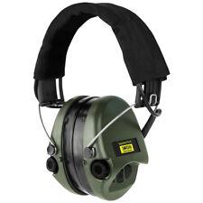 Sordin Supreme Pro-X Kapsel-Gehörschutz Stoffband Gelkissen grünen Kapseln