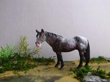 Schleich Pferd Quarter Horse repainted Appaloosa