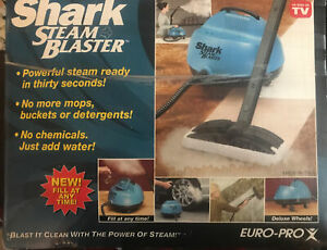 Shark Euro-Pro Steam Blaster EP95 - Cleaner w/ All Attachments - WORKS