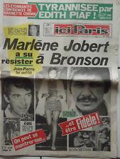 ▬►ICI PARIS 1297 (1969) MARLÈNE JOBERT_EDITH PIAF_DALIDA_GILBERT BECAUD