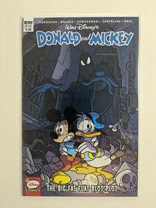 Donald and Mickey: The Big Fat Flat Blob Plot #1 2018 IDW Publishing Comics