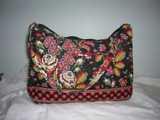 Vera Bradley Retired Cotton Hand Bag in Anastasia Small Hobo