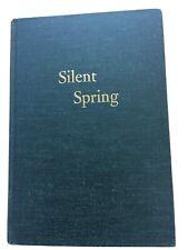Silent Spring - Rachel Carson 1962, 1st Edition, 1st Printing, HMCO