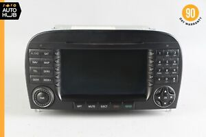 05-08 Mercedes R230 SL500 SL55 AMG Command Head Unit Radio Navigation CD OEM 60k