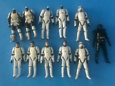 STAR WARS STORMTROOPER LOT OF FIGURES GOOD FOR CUSTOM FIGURES