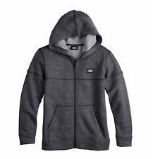 NEW Vans Youth Boy's L/S Humbles Full Zip Hoodie Sweatshirt MEDIUM Pewter Hoody