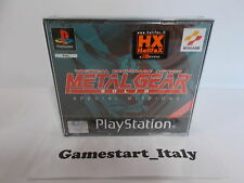 METAL GEAR SOLID SPECIAL MISSIONS (SONY PS1) NUOVO NEW PAL VERSIONE ITALIANA