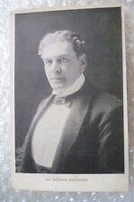 Postcard- MR. ARTHUR BOURCHIER