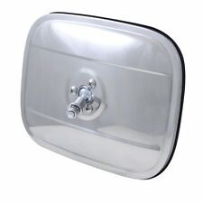 Square Head Side Mirror for 1940-1972 Chevrolet Trucks - Stainless Steel