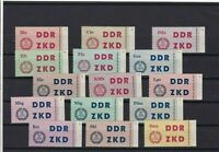 GERMANY EARLY MINT NEVER HINGED  COURIER LABEL STAMPS , THIN ON 1st STAMP  R3780