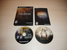 Final Fantasy XII 12 Complete PS2 Playstation 2 CIB Collector's Edition Game