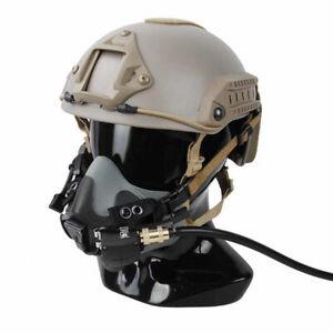 Tactical Phantom Ghost parachute breathing PHT Mask Model For highcut Helmet