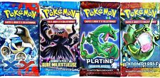 ① 4 BOOSTERS de CARTES POKEMON Neuf Aucun double en FRANCAIS (Lot N° AAR)