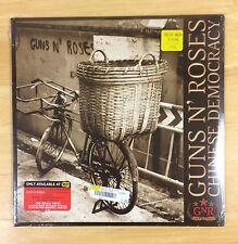 GUNS N ROSES Chinese Democracy LP Vinyl SEALED IMPERFECT SLEEVE New