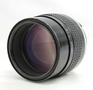 Nikon Ai-s Ais Nikkor 105mm F/1.8 MF Portrait Telephoto Lens from Japan