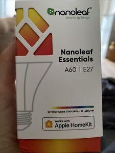 Nanoleaf Essentials Smart A60 E27 LED-Leuchtmittel
