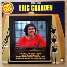 """ERIC CHARDEN """"SUPER STARS TELE"""" - VG++/VG++ - 80509/510 - DOUBLE LP 33 TOURS"""