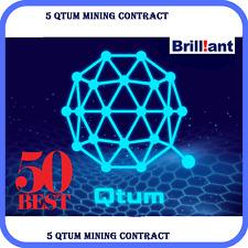 5 Qtum (Qtum) CRYPTO MINING-CONTRACT (5 Qtum)