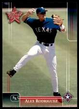 2002 Leaf Rookies And Stars Alex Rodriguez Texas Rangers #98
