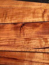 "Ultra Premium 5A Curly Koa Wood 5@17-24""x2-7x1"" For Instrument Grade"