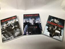 Flashpoint Bundle DVD Seasons 1,2,and 4.  Very Good Condition