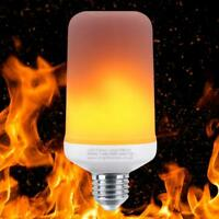 Flicker Flame Fire Effect E27 LED Simulated Light Bulb Warm White Decor Lamp