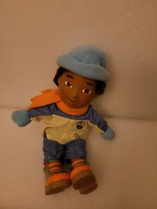 """FISHER PRICE 14"""" Go Diego Doll In Winter Outfit 2006 Dora The Explorer Viacom"""