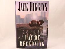VG+ Day of Reckoning by Jack Higgins (2000, Hardcover)