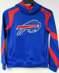 Buffalo Bills Youth Size M (10-12) or XL (18) Pullover Hoodie Sweatshirt B4 98