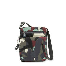Kipling New Eldorado Printed Crossbody Bag Camo L