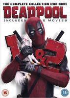 Deadpool 1 & 2 DVD (2018) Ryan Reynolds, Miller (DIR) cert 15 2 discs ***NEW***