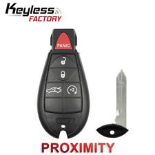 2008-2014 Dodge Chrysler  5-Button Keyless Go Fobik FCC ID : IYZ-C01C