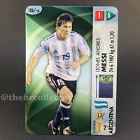 LIONEL MESSI Made in Brazil Rookie Goaaal Card #106. Panini 2006 World Cup.