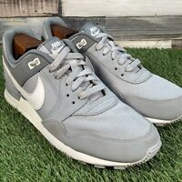 UK8 Nike Air Pegasus 89 Wolf Grey/Summit White Trainers - VTG Retro - AQ4276
