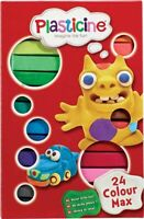 Plasticine 24 Colour Max Set - (Damaged Retail Packaging - See Pics) - 10256
