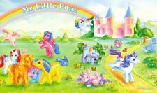 My Little Pony Promo POSTER 1984 G1 Large Rare Mail Order Mail Away MLP