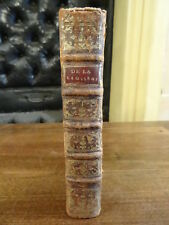 De la Législation ou Principes des Loix Abbé de Mably 1776 Edition Originale