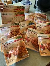 A Lot Of 13 Nutrisystem Lunch And Dinners