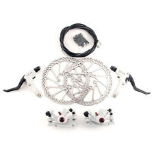G3 160mm Road Bicycle Disc Brake Front Brake Rear Brake Rotor Set MTB  White