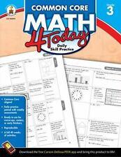 Common Core Math 4 Today, Grade 3: Daily Skill Practice [Common Core 4 Today]