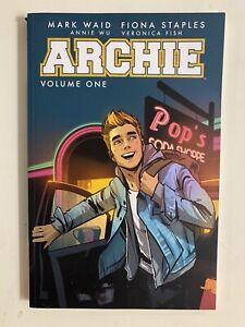 Lot x 2 ARCHIE Vol 1 & Vol 2 Waid Riverdale High TPB Graphic Novel 2016