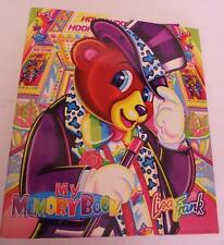 Vintage Lisa Frank Hollywood Bear My Memory Book 3-Ring Binder & Cut-Outs