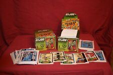 1987 GI JOE TRADING CARDS HASBRO COMIC IMAGES SERIES 1 COBRA